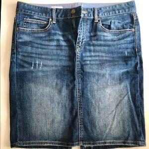 Gap Classic Jean Skirt